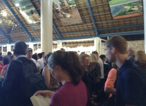 Lines at Punta Cana Airport