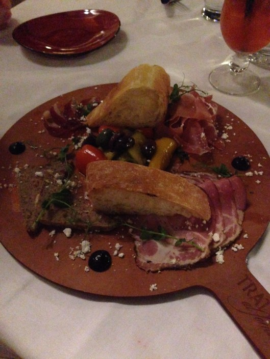 Disney's Boardwalk Cured meat plate
