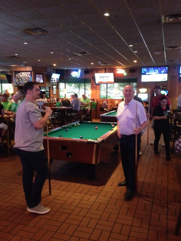 Miller's Ale House Pool Table