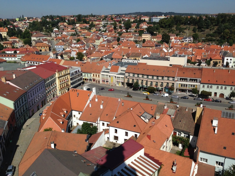 Trebic - View from Town Tower 03
