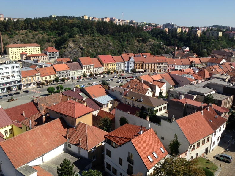 Trebic - View from Town Tower 04