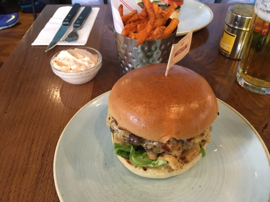 Gourmet Burger Kitchen, Westfield Centre, London, England |