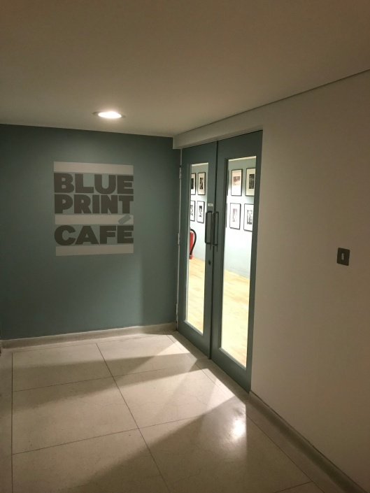 The blueprint cafe shad thames london england once inside the place is modern but cosy with great views to the river well except on our visit the view was obscured by a yacht belonging to malvernweather Images