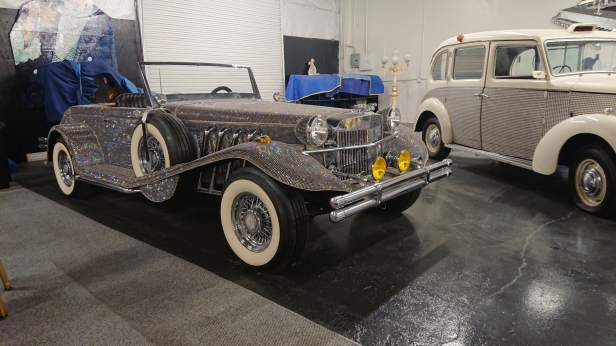 Liberace crystal-covered roadster