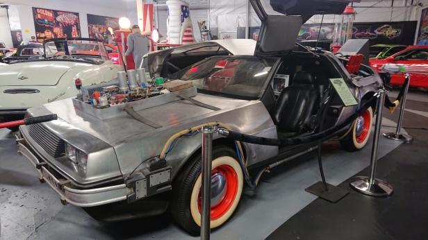 Back to the Future 3 DeLorean