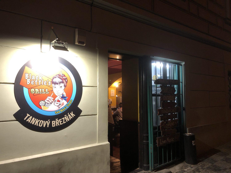 Black Bettie's Bar and Grill, Prague, Czech Republic